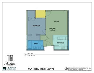 Matrix Midtown Unit 204