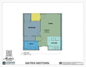 Matrix Midtown Unit 205