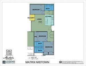 Matrix Midtown Unit 207