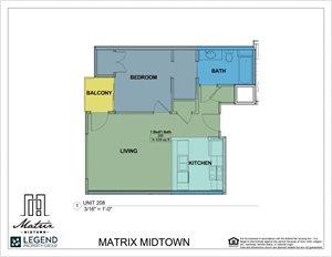Matrix Midtown Unit 208