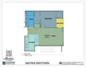 Matrix Midtown Unit 209