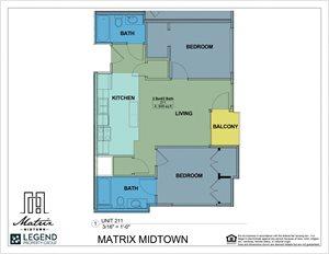 Matrix Midtown Unit 211