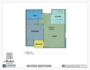 Matrix Midtown Unit 212