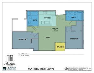 Matrix Midtown Unit 213