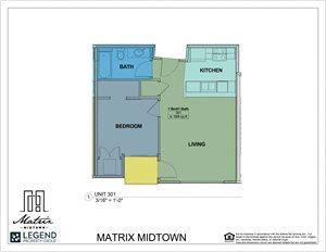 Matrix Midtown Unit 301