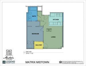 Matrix Midtown Unit 302