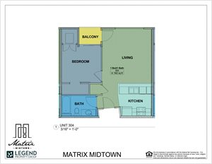 Matrix Midtown Unit 304