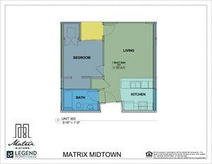 Matrix Midtown Unit 305