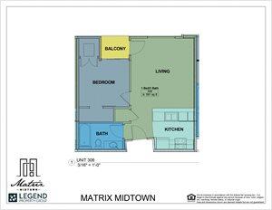 Matrix Midtown Unit 306