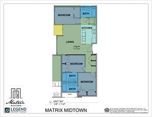 Matrix Midtown Unit 307