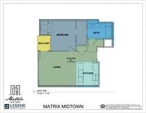 Matrix Midtown Unit 308