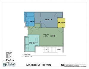 Matrix Midtown Unit 309
