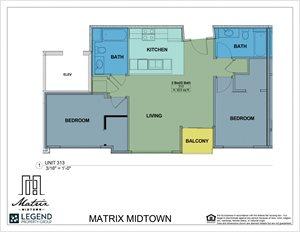 Matrix Midtown Unit 313