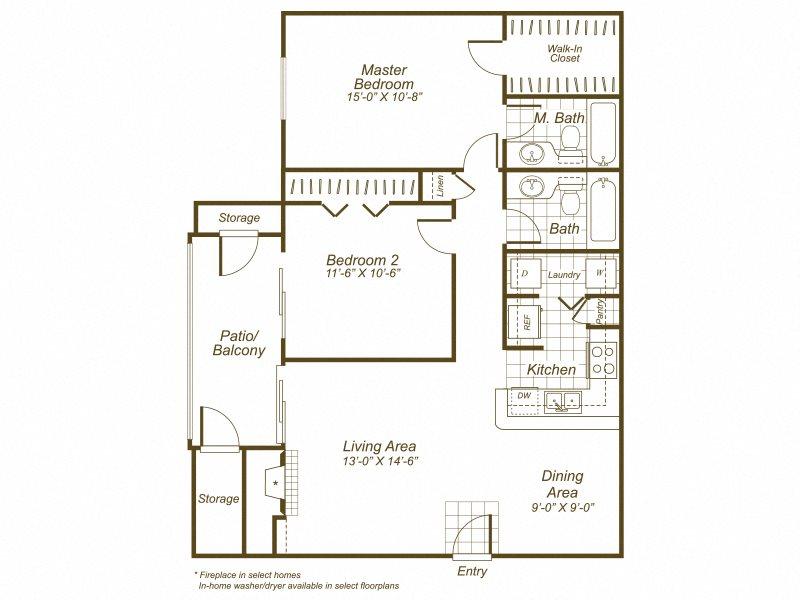 B1r Floor Plan 3