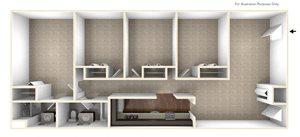 Four Bedroom Apartment Floor Plan Berkshire Peak Apartments