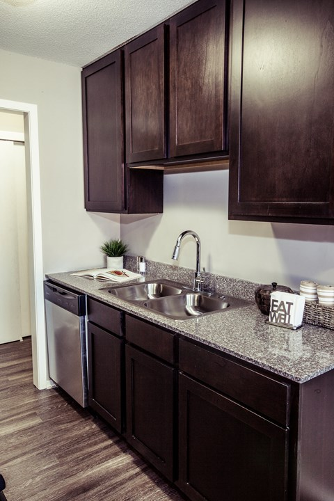 Modern kitchen at Concierge Apartments in Richfield MN
