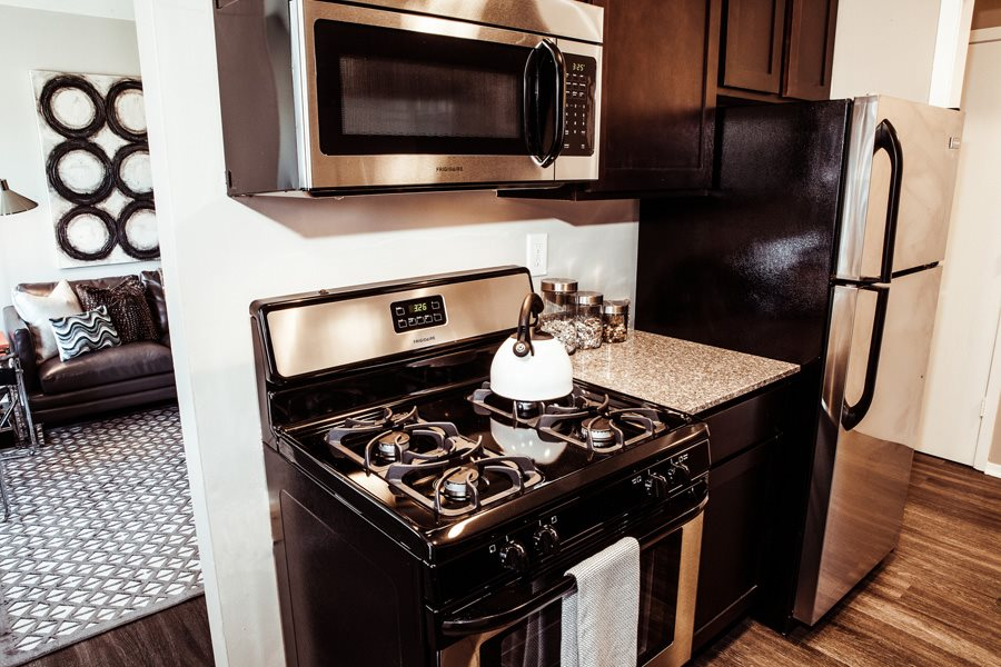 Kitchen at Concierge Apartments in Richfield MN