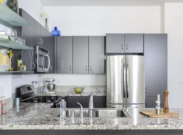 Home Community -  Modular Kitchen at 1600 Vine Apartment Homes, 1600 VINE Street, Hollywood