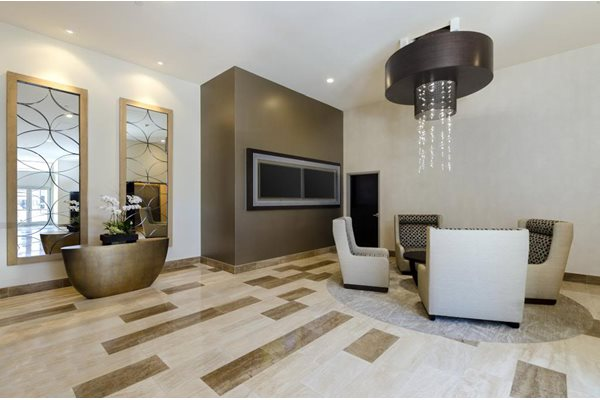 Elegant Lobbies & Waiting Areas at 1600 Vine Apartment Homes, 1600 VINE Street, CA