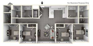 Four Bedroom Flat