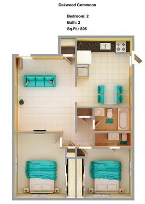 2 Bedroom A