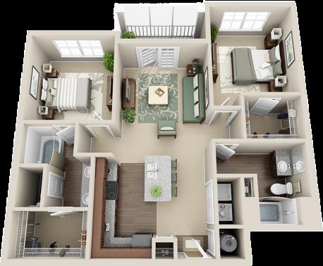 B1 Balcony Floor Plan 5