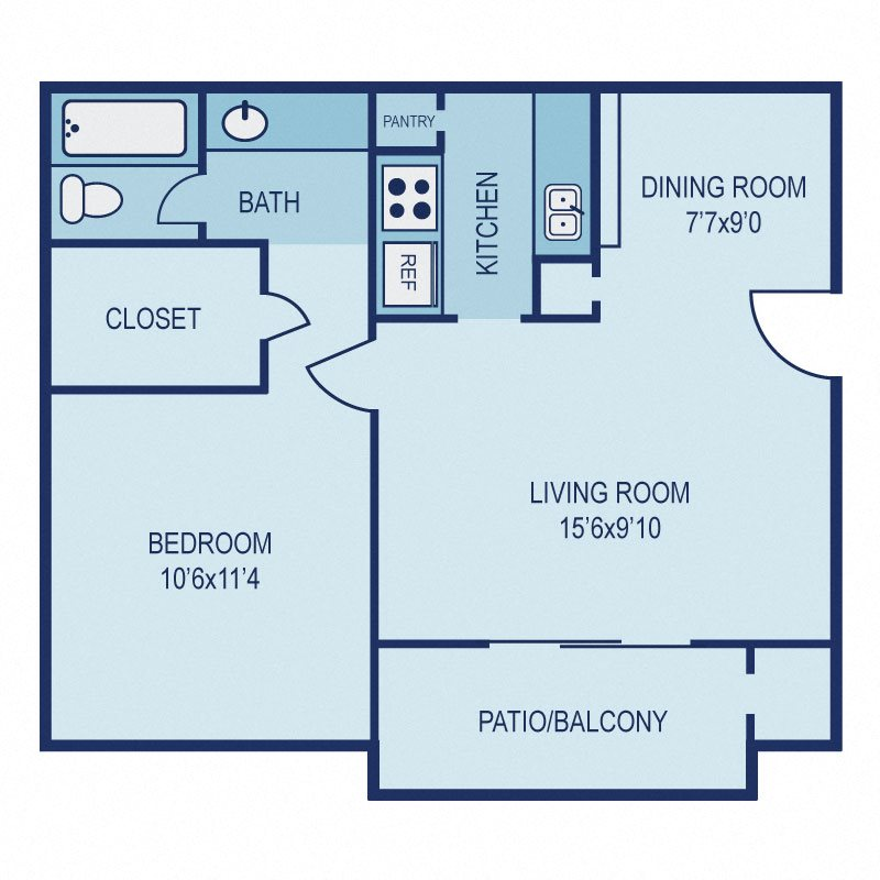 Floorplan A Floor Plan 1