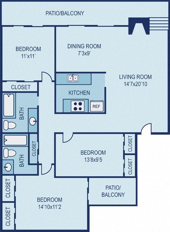 Floor Plan C2 Floor Plan 13