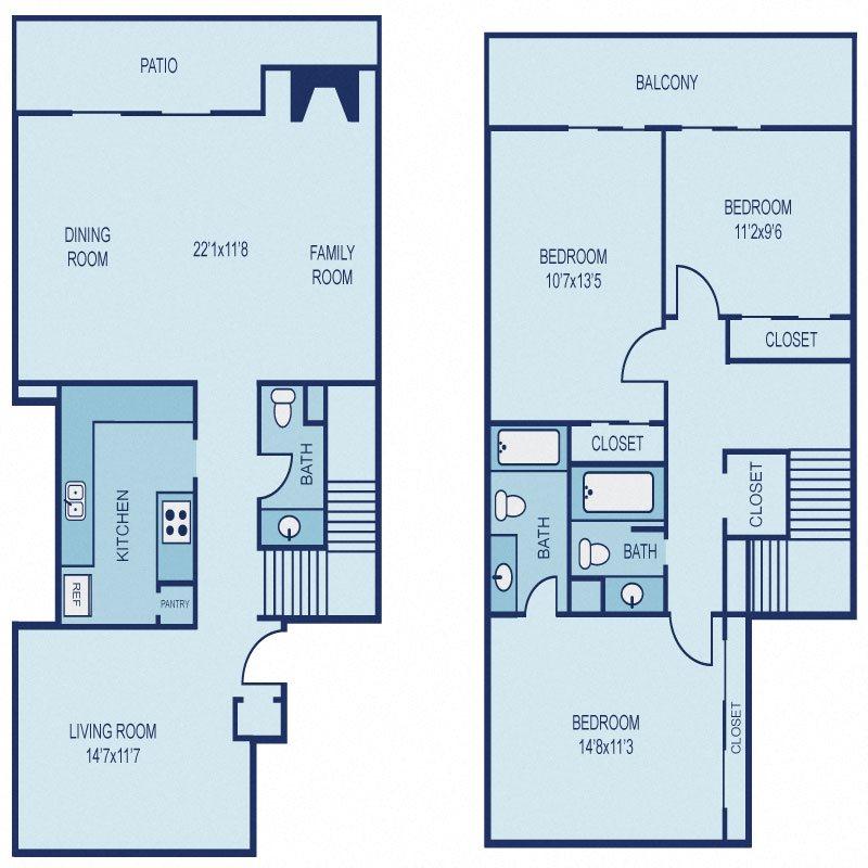 Floor Plan C4 Floor Plan 15