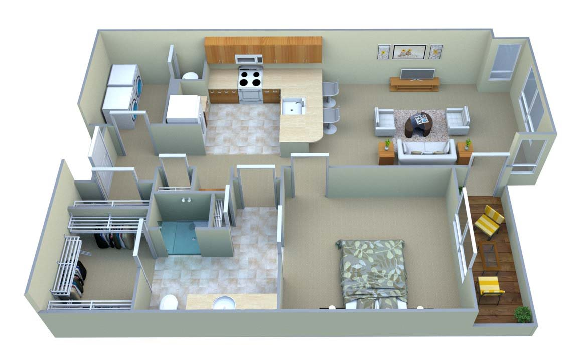 A1-Mountain View Floor Plan 3