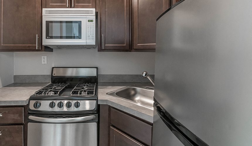 Updated Kitchens at Reside on Clarendon, Chicago, IL, 60613