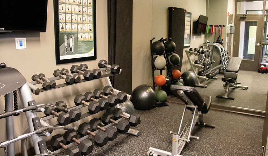 Fitness Center at Reside on Clarendon, Chicago, IL, 60613
