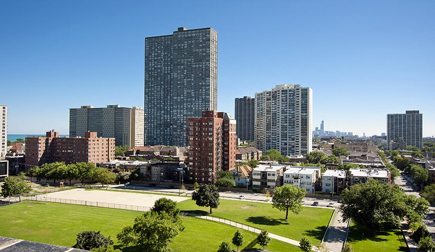 Elegant Views at Reside on Clarendon, Chicago, IL,60613