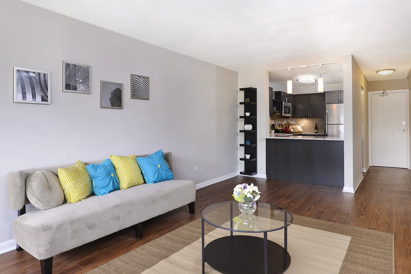 Hardwood Floors at Reside on North Park, Chicago, IL,60614