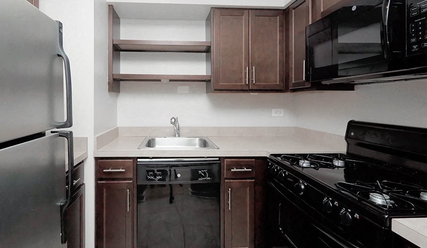 Updated Kitchens at Reside on Pine Grove, Chicago, IL, 60613