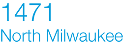 1471 N. Milwaukee Ave Logo, Chicago