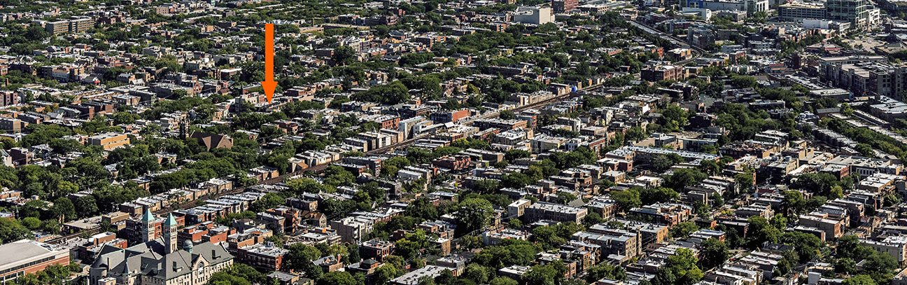 Lincoln Park Aerial Photo
