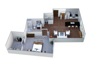 Floor plan at Linea Cambridge, Cambridge, MA