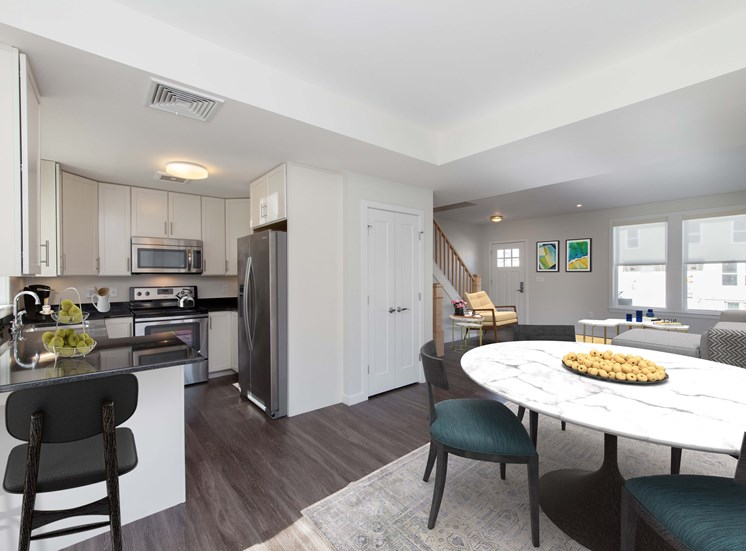 Open Floor Plans at Linea Cambridge in Cambridge, MA
