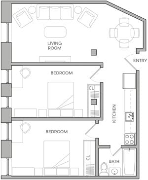 Two Bedroom K3