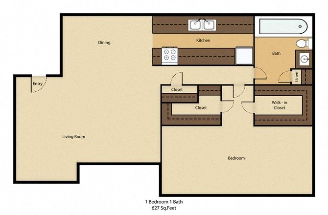 Center Ridge Apartments Floor Plan Duncanville TX