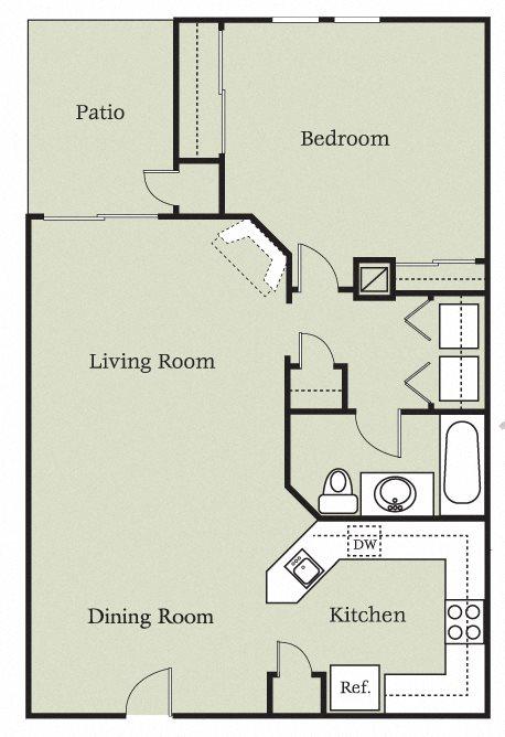 Aragon w/Garage Floor Plan 3