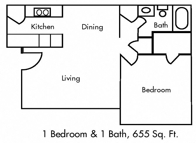 Hillcrest Apartments Floor Plan Mesquite TX