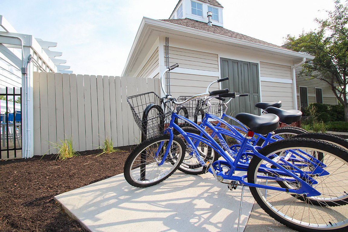 Free bike rentals for all our residents!