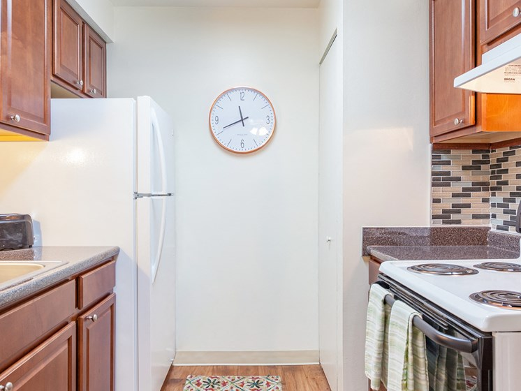 Designer Kitchen Cabinets with Soft Close at Regents Court Apartments,Michigan, 48185