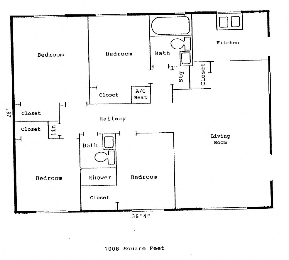 Lakewood Apts Floor Plan