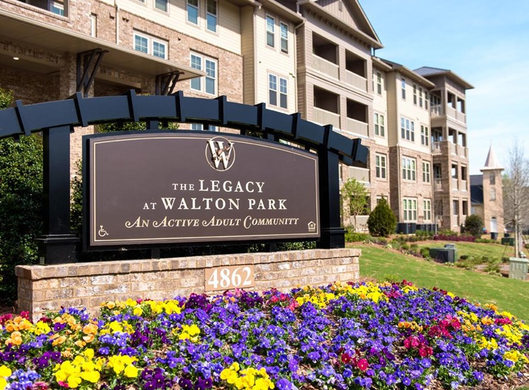 The Legacy at Walton Park Entry