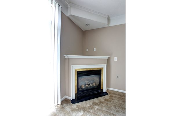 College Park Apartments Fireplace