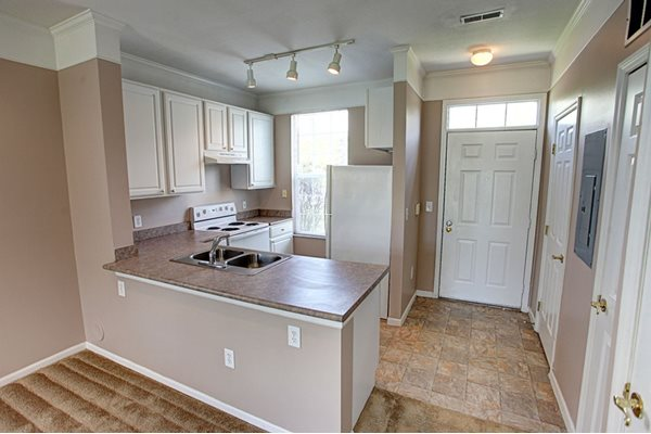College Park Apartments kitchen and dining room