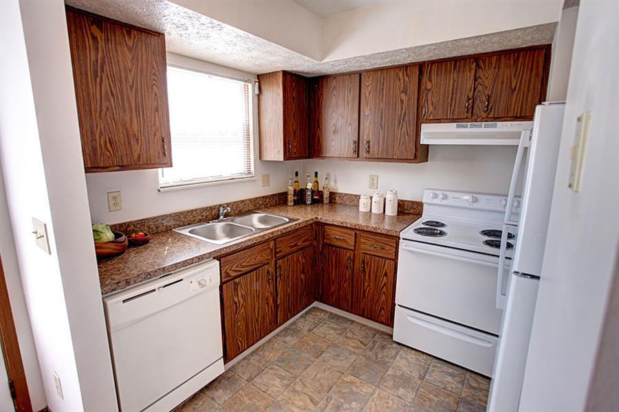 Worthington Meadows Townhomes Kitchen